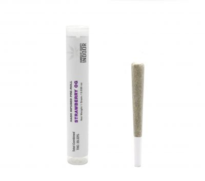 Strawberry OG -Hash Infused Pre-Roll